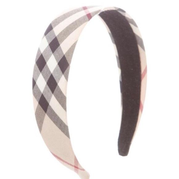 4e497212f40f Burberry Accessories   Discontinued Headband   Poshmark